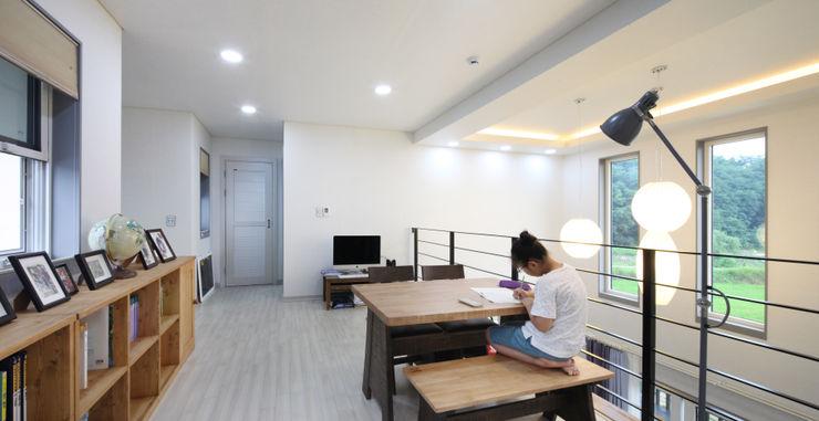 2층 멀티룸 윤성하우징 모던스타일 미디어 룸
