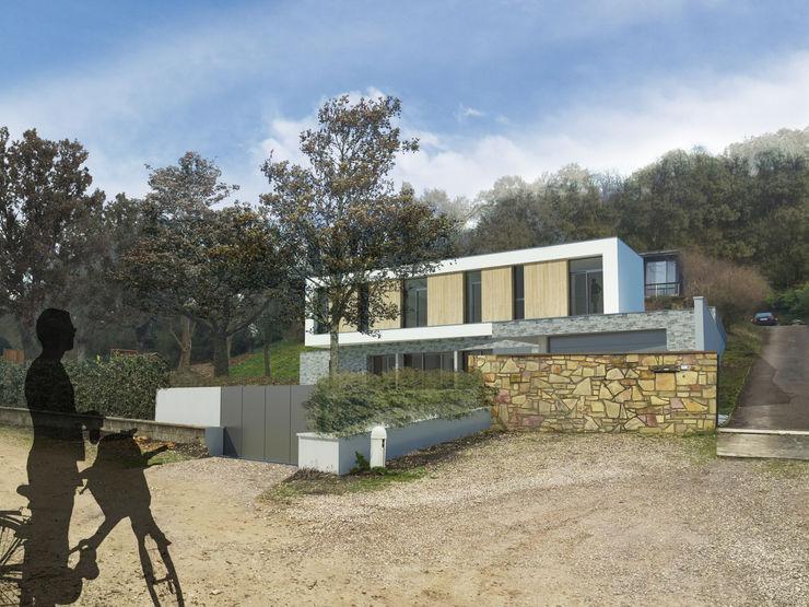 Insertion paysagère 3B Architecture Bureau minimaliste