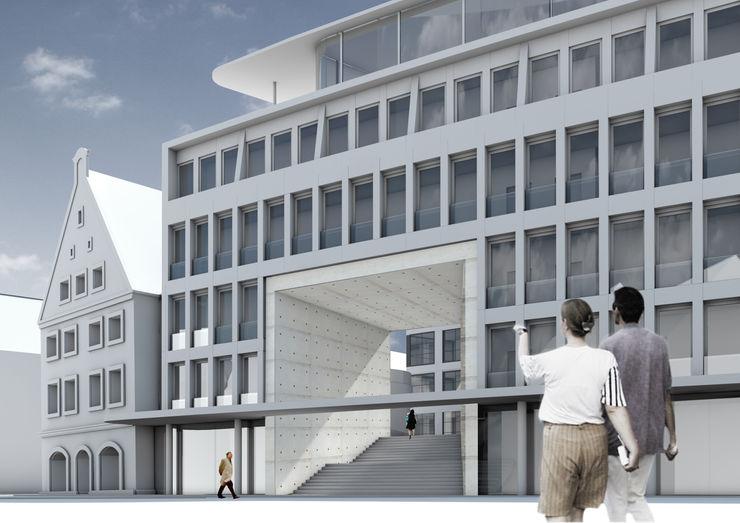 brandt+simon architekten Casas modernas