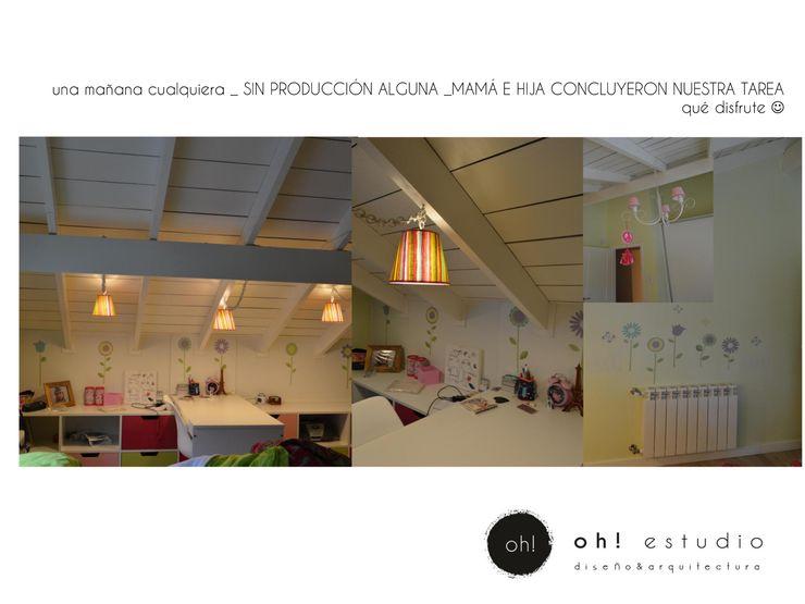OH! estudio diseño & arquitectura Modern bathroom Multicolored