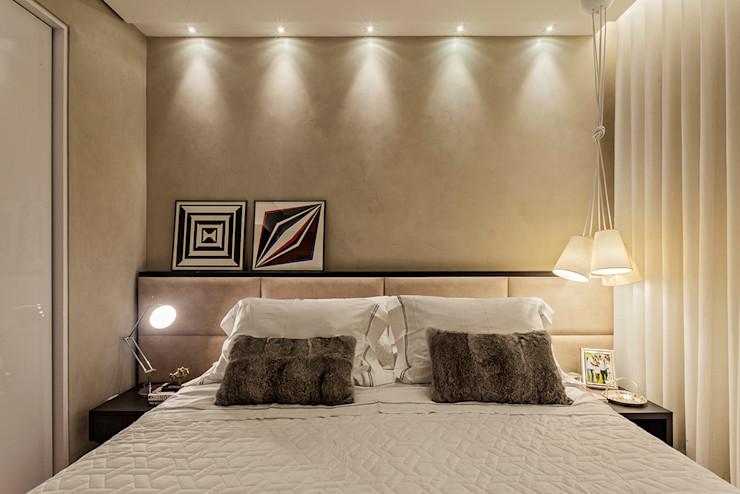LEDS Arquitetura Dormitorios de estilo moderno