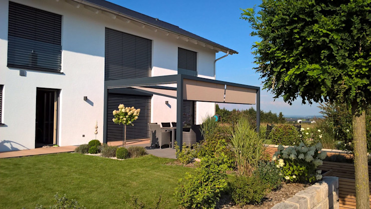 Textile Sonnenschutz- Technik Modern Garden