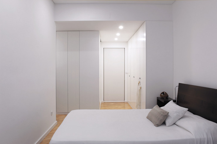 Sónia Cruz - Arquitectura Dormitorios de estilo moderno Azul