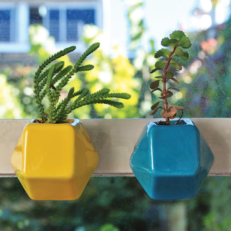 Bizcocho HouseholdPlants & accessories Pottery Yellow