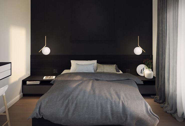 Mohav Design Minimalist bedroom Black