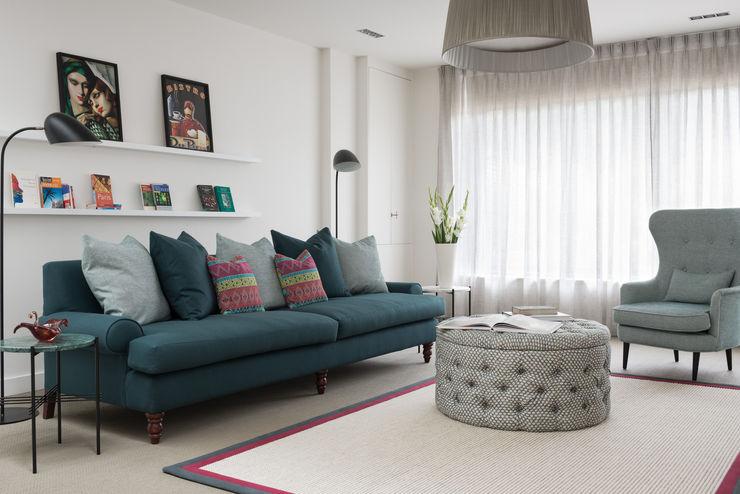 Living Room SWM Interiors & Sourcing Ltd Salones de estilo moderno