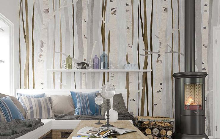 BandIt Design Modern Living Room Wood effect