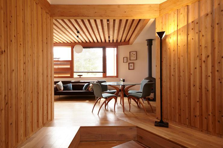 すわ製作所 Eclectic style living room
