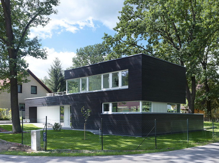 Einfamilienhaus in Falkensee bei Berlin Justus Mayser Architekt Moderne Häuser