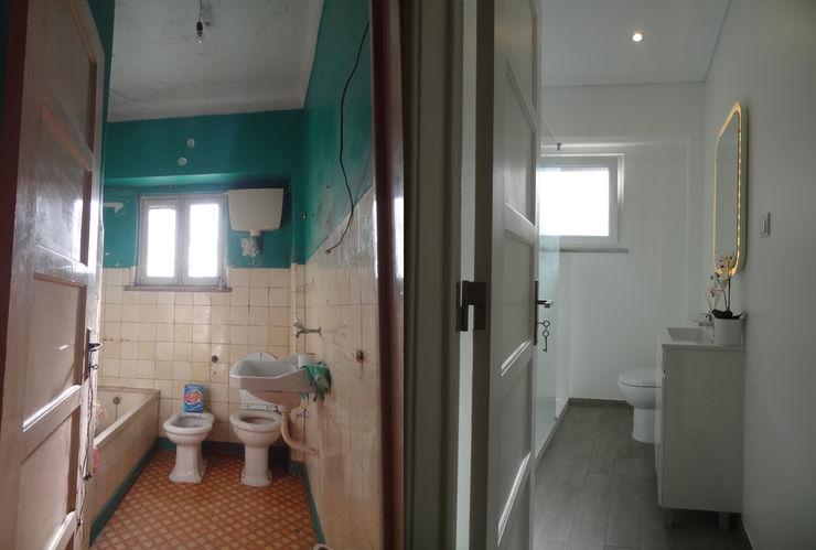 Happy Ideas At Home - Arquitetura e Remodelação de Interiores Nowoczesna łazienka