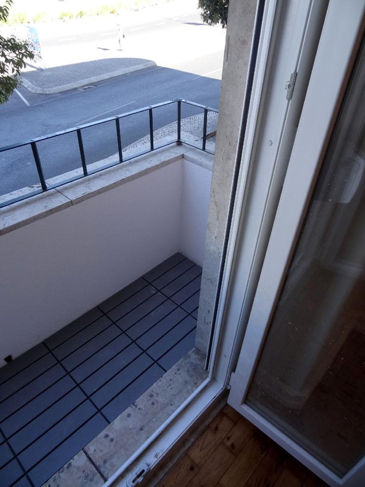 Happy Ideas At Home - Arquitetura e Remodelação de Interiores Balcones y terrazas de estilo moderno