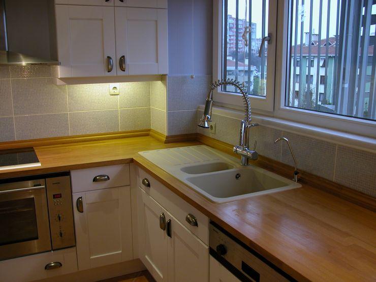 4.Levent Evi İndeko İç Mimari ve Tasarım Klasik Mutfak