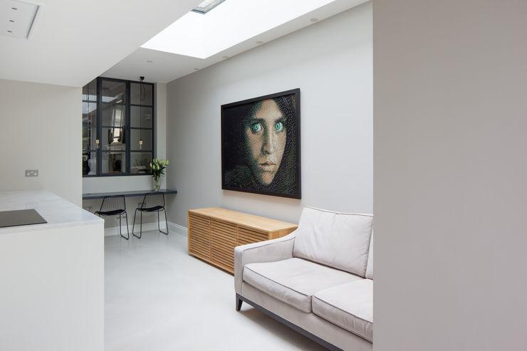 crittall screen TAS Architects Modern study/office