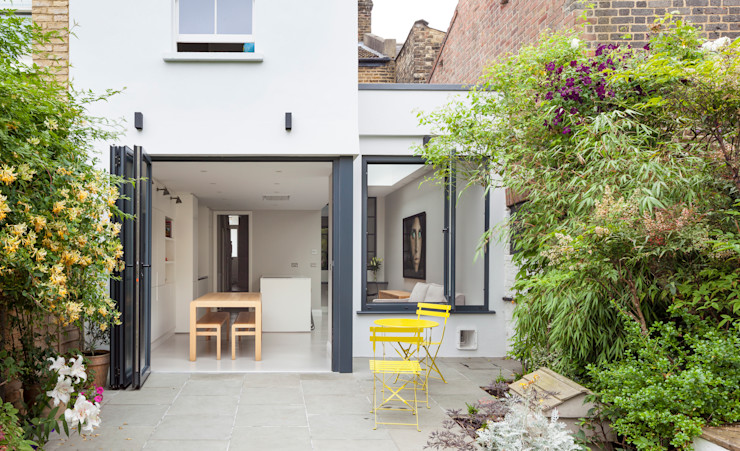 open spaces TAS Architects Modern houses