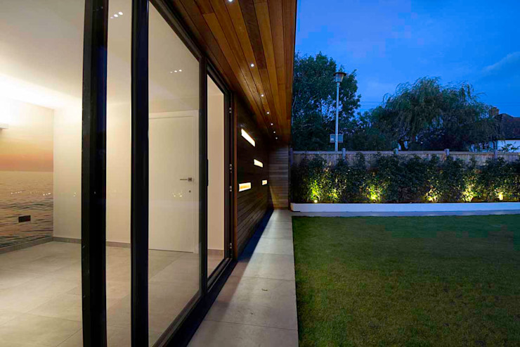 Hadley Wood—North London New Images Architects Modern houses