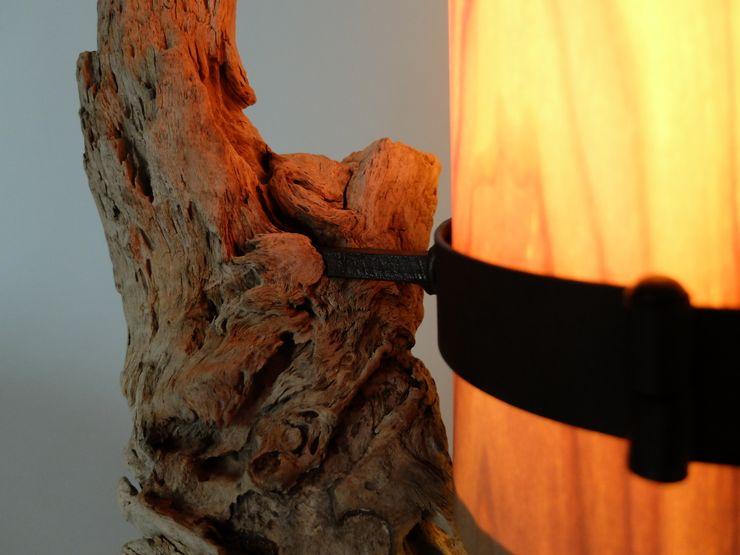 Tischlampe Ruga - Upcycling von LuxUnica LuxUnica - Upcycling-Kunst WohnzimmerBeleuchtung
