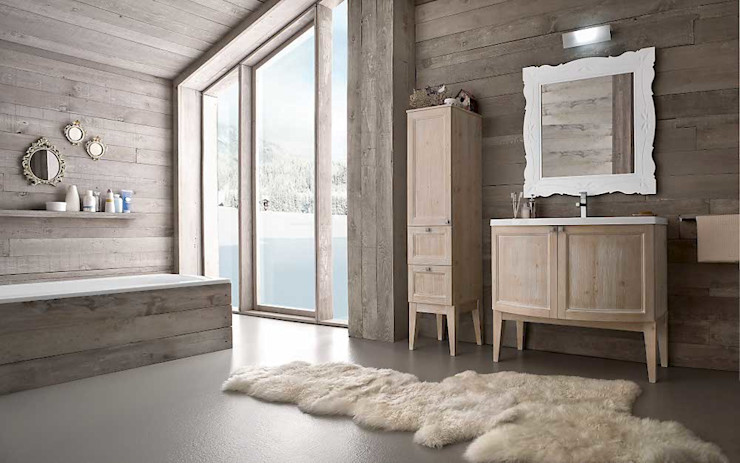 Natural Bathroom Casa Più Arredamenti