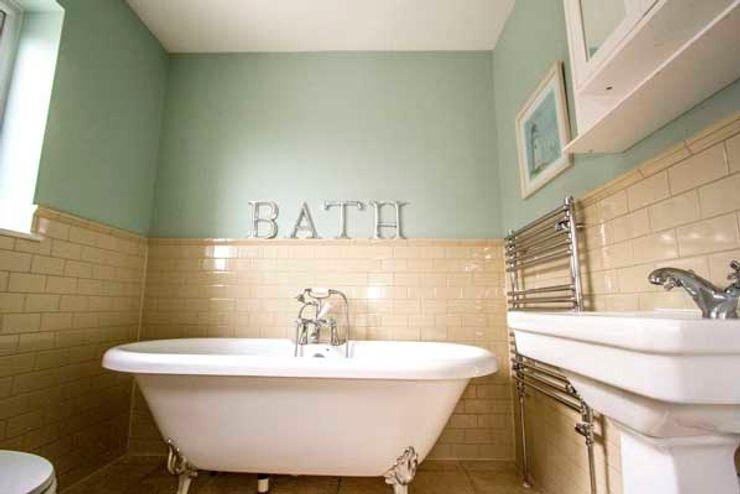 Extension, Loft Conversion & Complete Refurbishment – Kingston Cube Lofts Ванна кімната