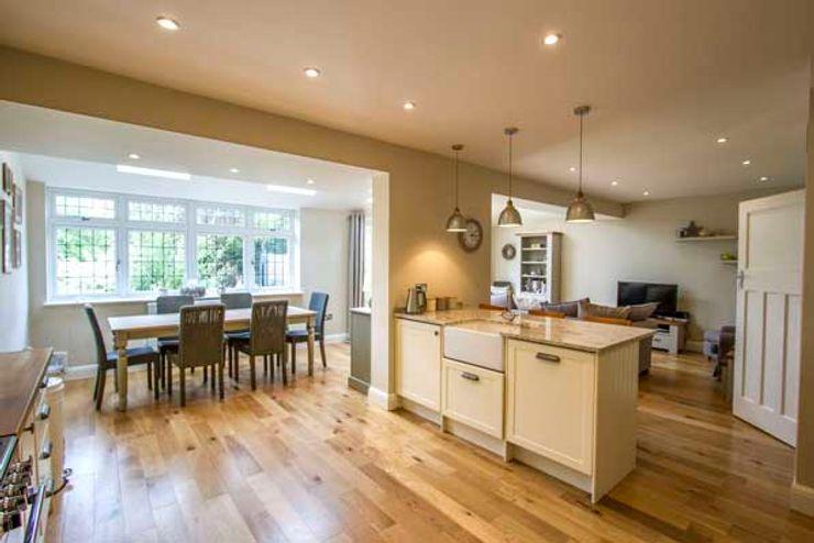Extension, Loft Conversion & Complete Refurbishment – Kingston Cube Lofts Кухня