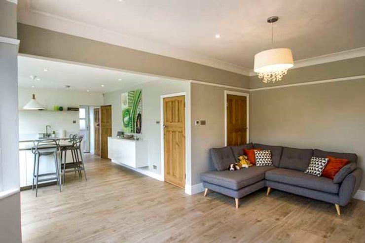 Kitchen Extension – Strawberry Hill, Twickenham Cube Lofts Modern kitchen