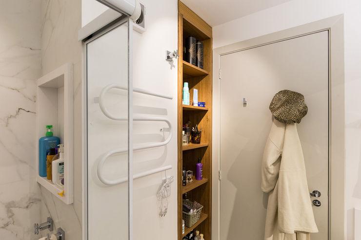 Kali Arquitetura Scandinavian style bathroom