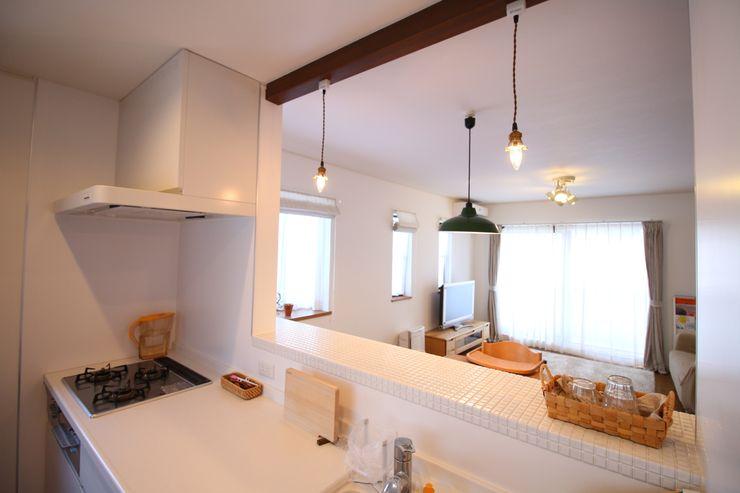 いえラボ Scandinavian style kitchen