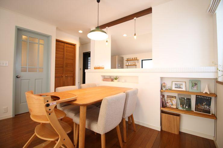 いえラボ Scandinavian style dining room