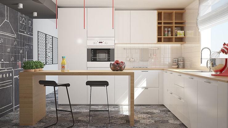 Kitchen Glamora Wallpaper olivia Sciuto Cucina moderna