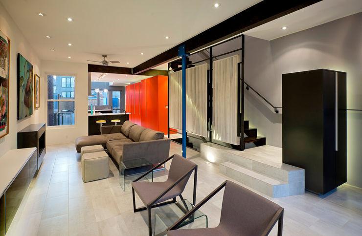 Mi Casita : Carmen's KUBE architecture Modern Living Room