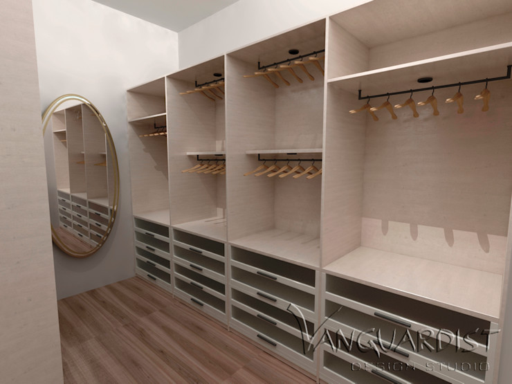 VISTA WALK IN CLOSET Vanguardist Design Studio