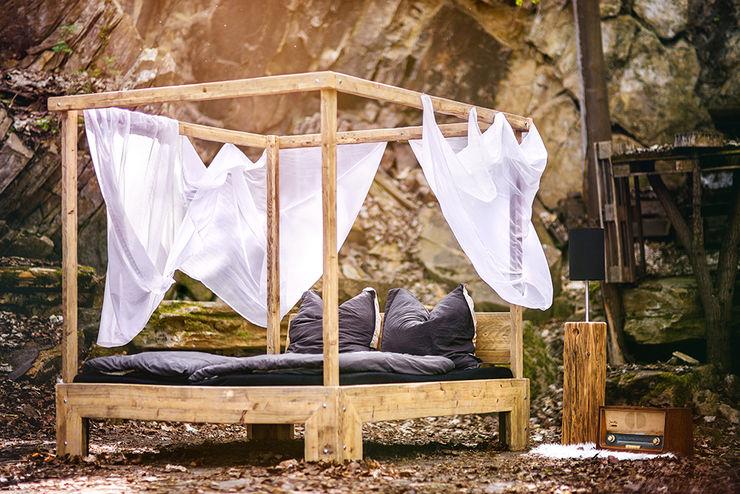 Himmelbett edictum - UNIKAT MOBILIAR Schlafzimmer im Landhausstil