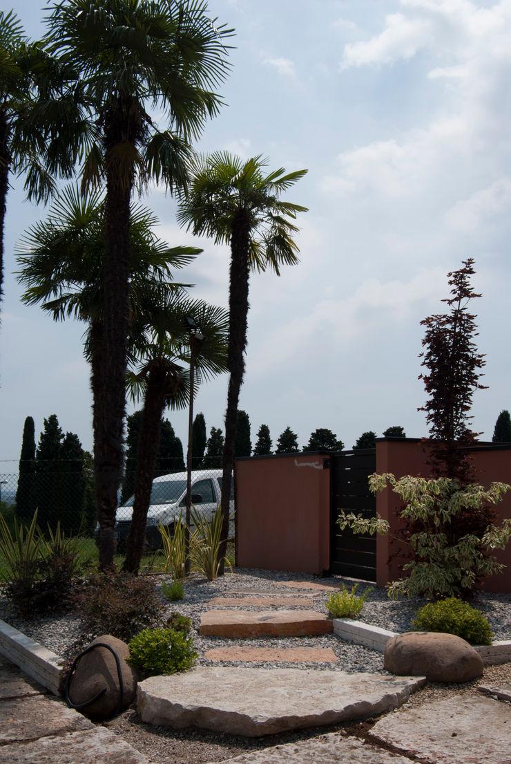 Modern garden Lugo - Architettura del Paesaggio e Progettazione Giardini Front garden