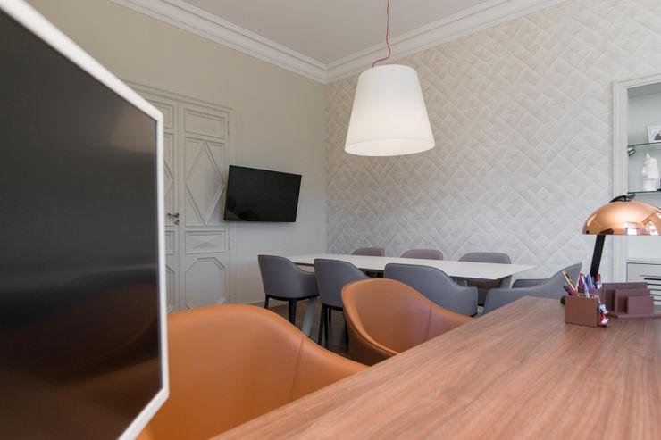 Insides Modern study/office Beige