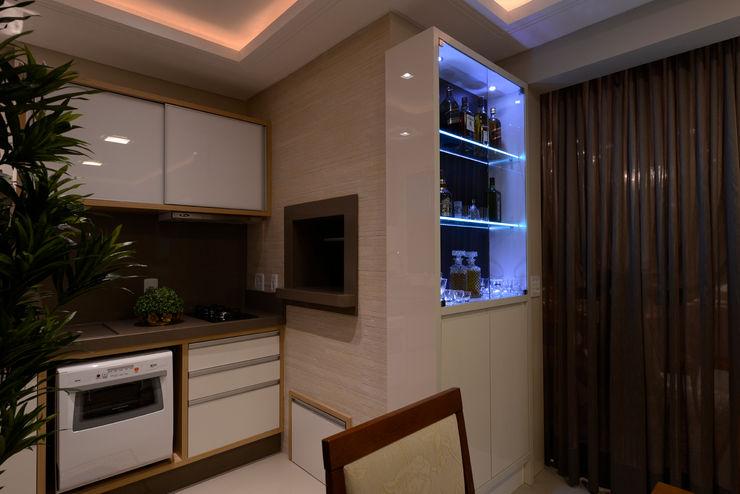 Ambiente da churrasqueira Rosé Indoor Design Cozinhas clássicas
