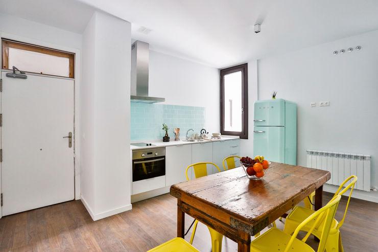 StudioBMK مطبخ Turquoise