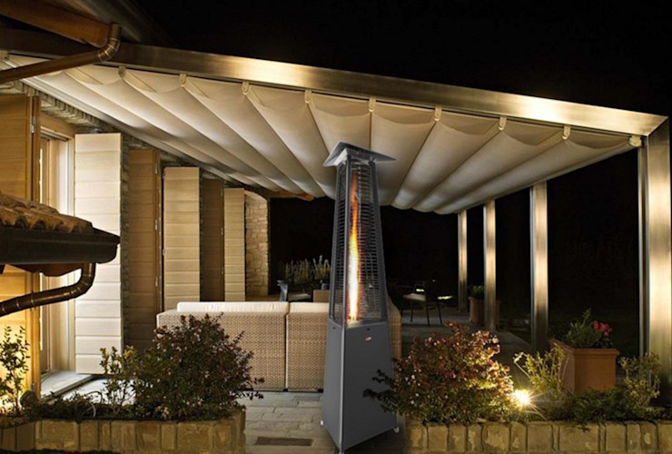 RF Design GmbH Modern Terrace Grey