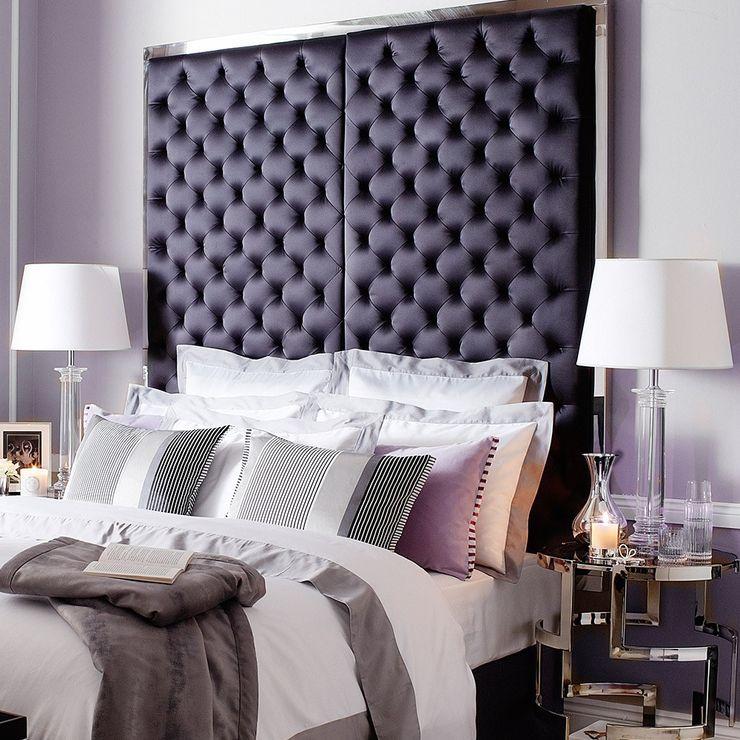 Conexo. Modern Bedroom Solid Wood Purple/Violet