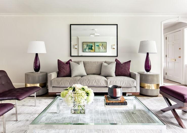Living Room Clean Design اتاق نشیمن