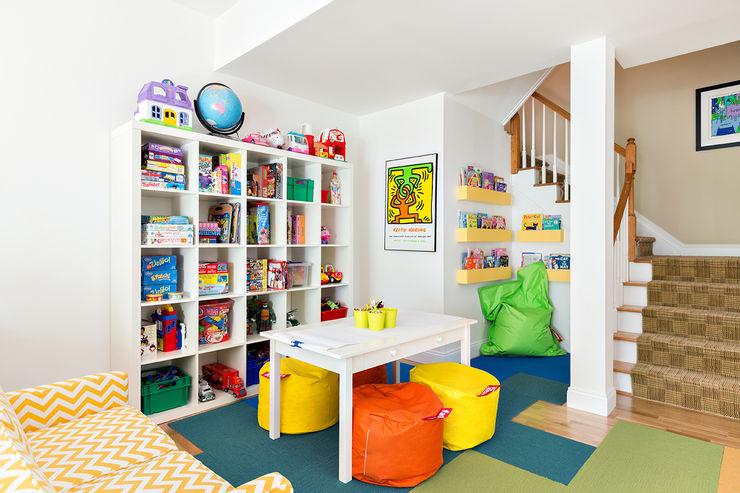 Basement Clean Design Modern living room