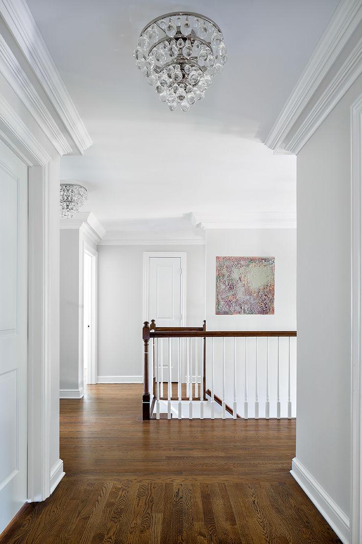 Hall Clean Design Modern Corridor, Hallway and Staircase
