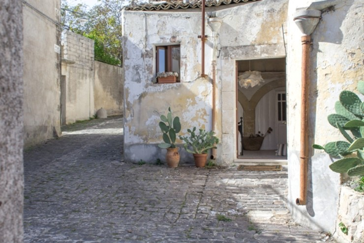 Boite Maison 地中海走廊,走廊和楼梯