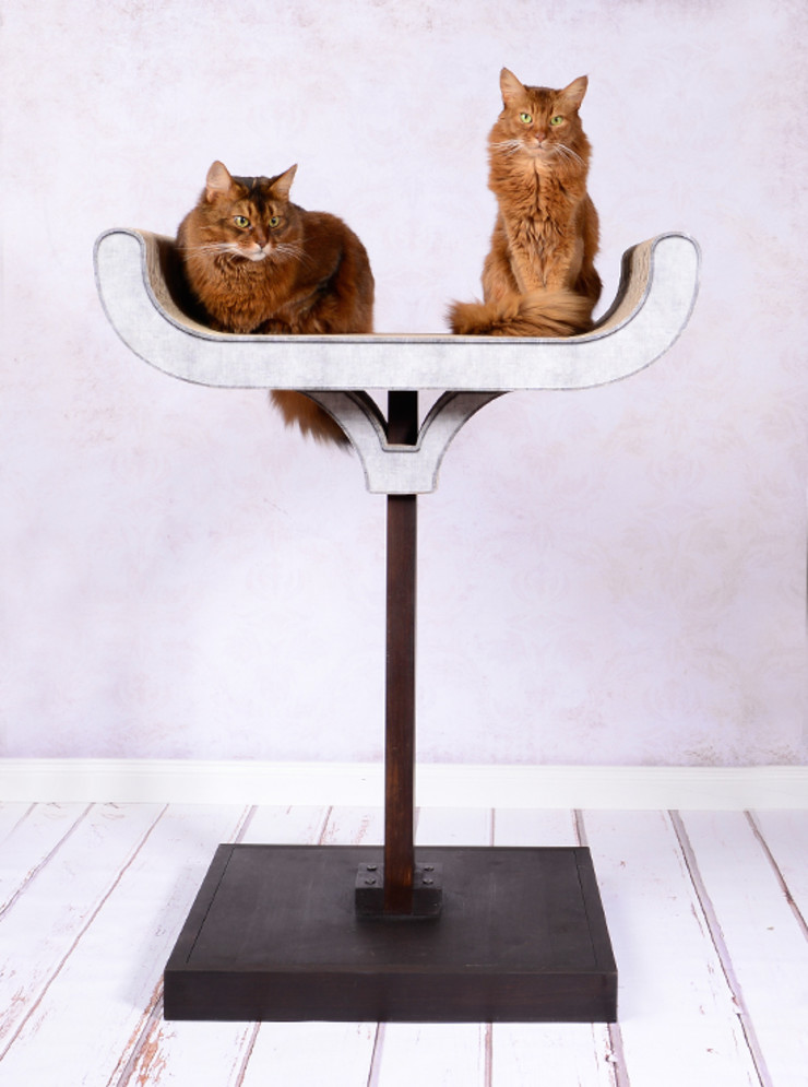 cat-on Living roomAccessories & decoration Wood Black