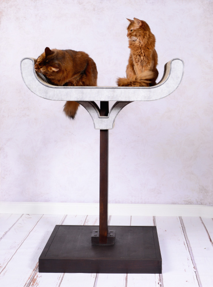 cat-on Living roomAccessories & decoration Wood Brown