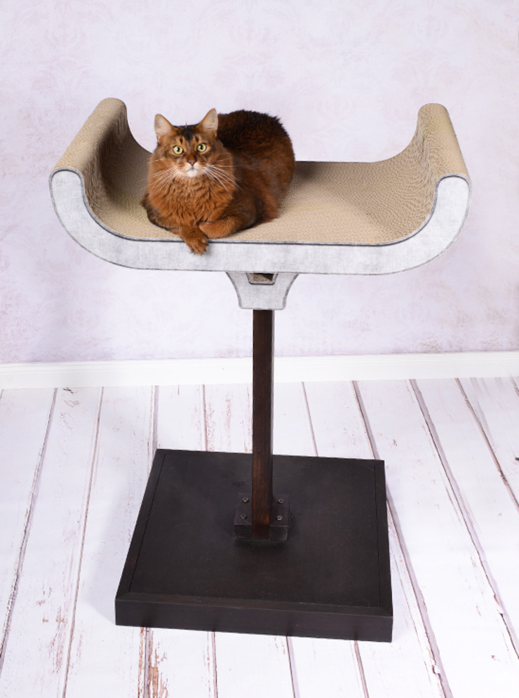 cat-on Living roomAccessories & decoration Wood Multicolored