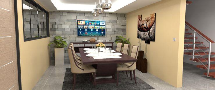 Atahualpa 3D Modern Dining Room