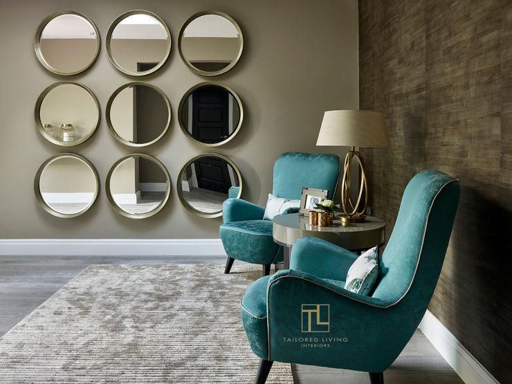 Luxurious entrance hall Tailored Living Interiors Modern corridor, hallway & stairs