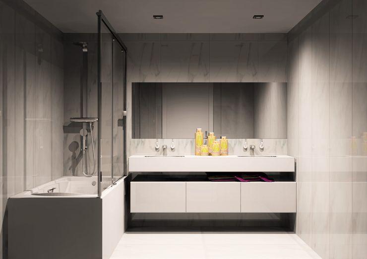 Amplitude - Mobiliário lda 現代浴室設計點子、靈感&圖片