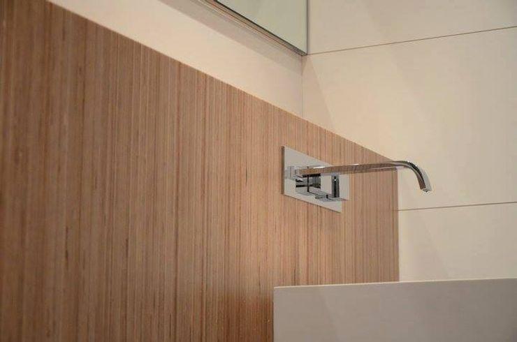 Casa de banho social em apartamento Dynamic444 Casas de banho modernas Madeira