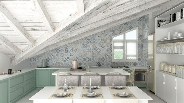 Architetto Luigia Pace Kitchen Wood White