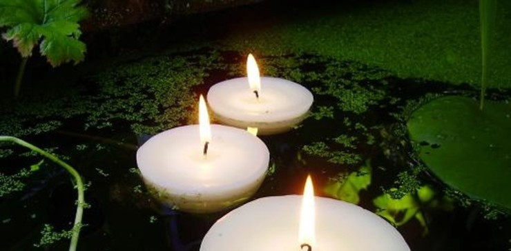 Pond & Pool Candles The London Candle Company HouseholdAccessories & decoration